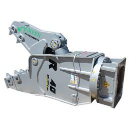 Broyeur Pulvérisateur rotatif Yellow R 40 (38 … 55 t) 3780 kg