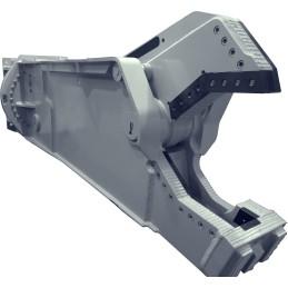 Scrap metal shear Yellow S 55 (50 … 70 t) 5630 kg