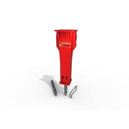 Marteau hydraulique  Red 700 (60…100 t) 6900 kg