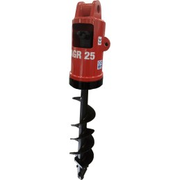 Hydraulic Auger Red AGR 25 (20…40 t), 312 kg