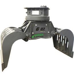 Грейферы серии Yellow G 02 (145 кг) для экскаваторов весом 1.5…4т.