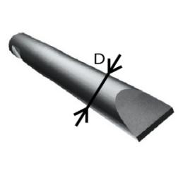 Hydraulic breaker Red 025 Chisel tool