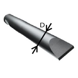 Hydraulic breaker Red 036 Chisel tool